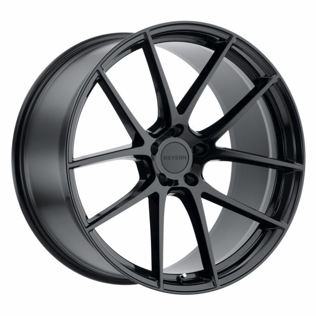 BEYERN RITZ 22X10.5 5/120 ET32 CB72.56 GLOSS BLACK RF