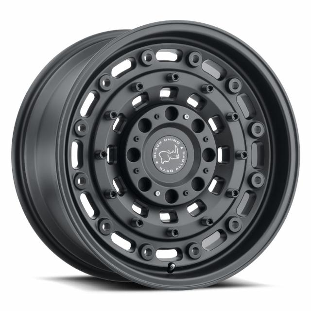 BLACK RHINO ARSENAL 16X8.0 5/160 ET38 CB65.1 TEXTURED MATTE BLACK