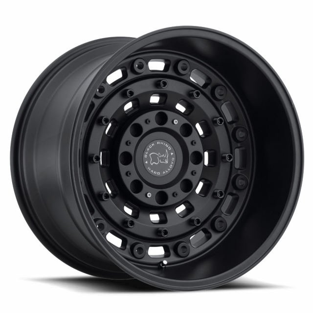 BLACK RHINO ARSENAL 16X8.0 6/130 ET38 CB84.1 TEXTURED MATTE BLACK