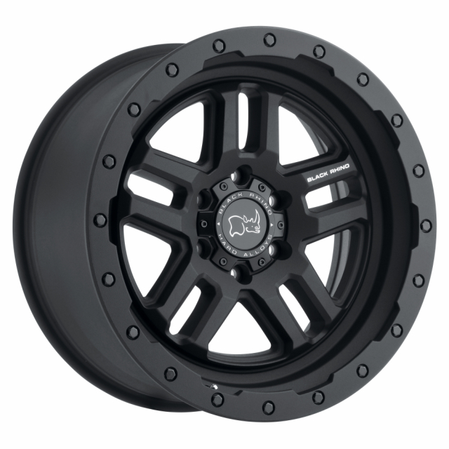 BLACK RHINO BARSTOW 20x8.5 5/114.3 ET30 CB76.1 TEXTURED MATTE BLACK