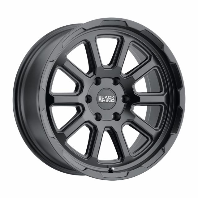 BLACK RHINO CHASE 20x8.5 5/127 ET10 CB71.6 MATTE BLACK RF