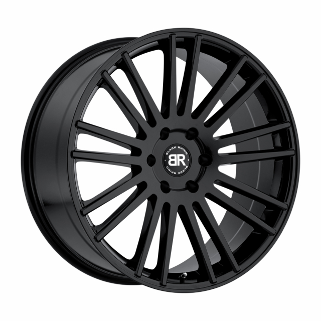 BLACK RHINO KRUGER 20x9.0 6/139.7 ET00 CB112.1 GLOSS BLACK
