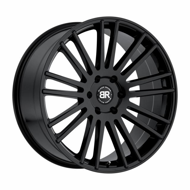 BLACK RHINO KRUGER 20x9.0 6/139.7 ET15 CB112.1 GLOSS BLACK