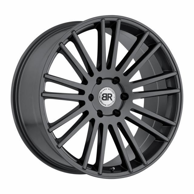 BLACK RHINO KRUGER 20x9.0 6/139.7 ET00 CB112.1 GLOSS GUNMETAL