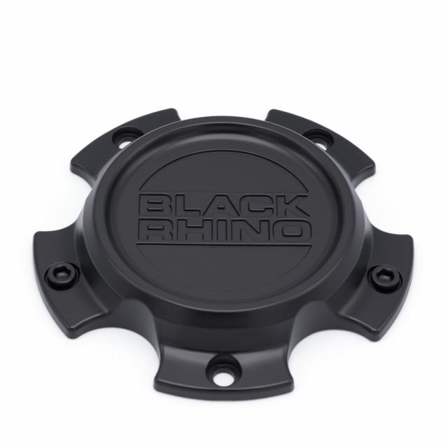 CENTER CAP BLACK RHINO 5/127 SEMI GLOSS BLACK (ST1905-01)