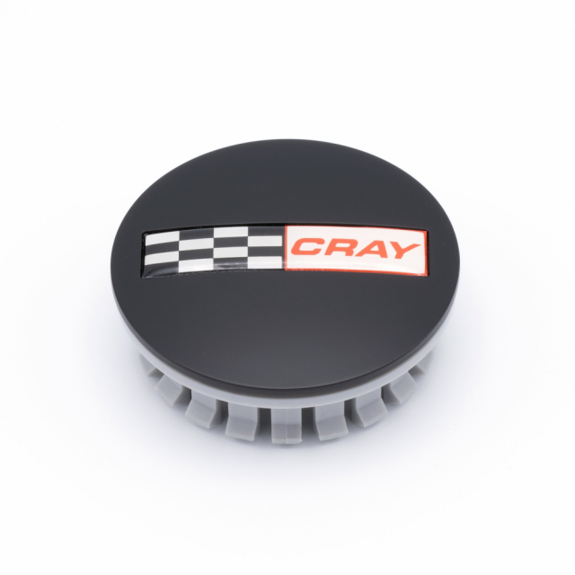 CENTER CAP CRAY C6 MATTE BLACK  (1704K67)