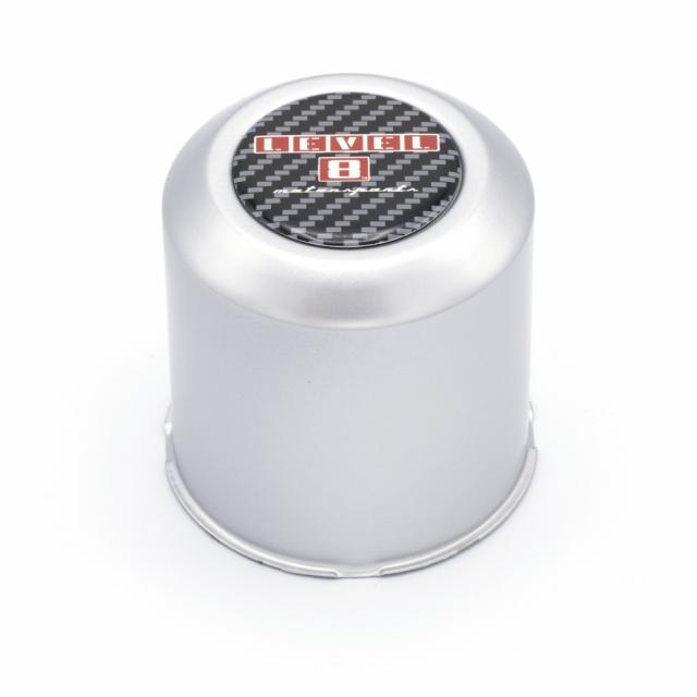 CENTER CAP LEVEL 8 5/114.3, 6/114.3 (SILVER)  STR/ZX/TRA