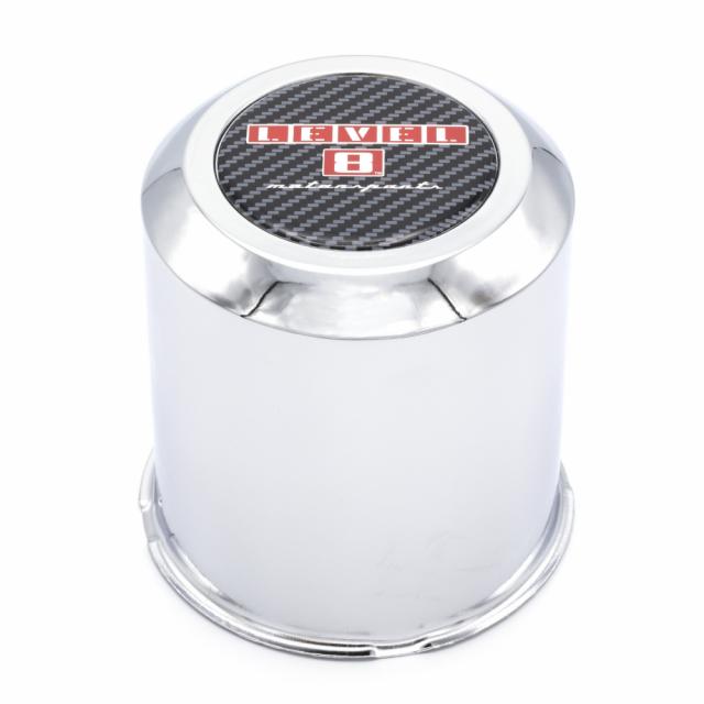 CENTER CAP LEVEL 8 XL 8/165.1, 8/170 (CHROME)  STR/ZX/TRA