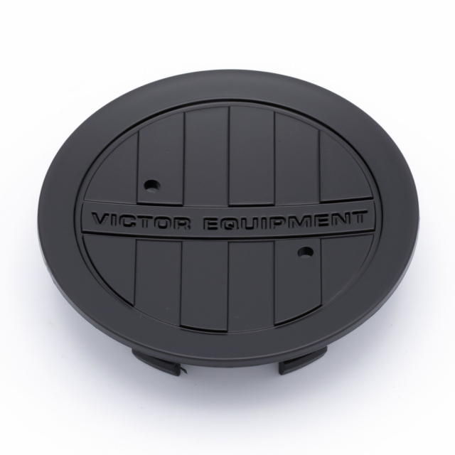 CENTER CAP VICTOR EQUIPMENT MATTE BLACK (PCH67)