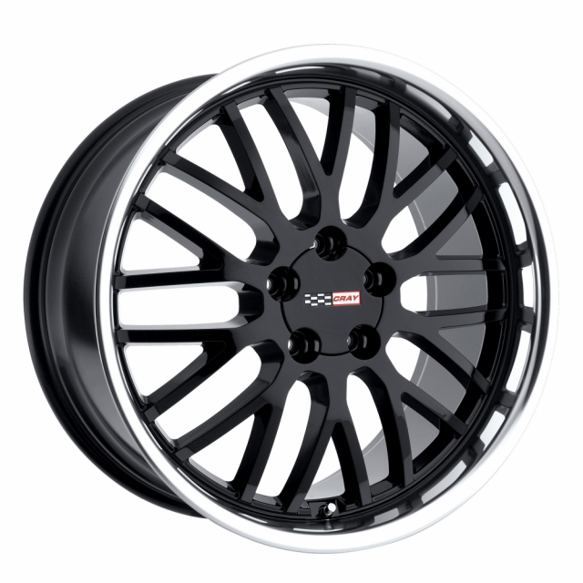 CRAY MANTA 18x10.5 5/120.65 ET65 CB70.3 BLACK MIRROR LIP