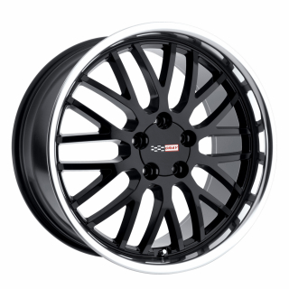 CRAY MANTA 18x9.0 5/120.65 ET50 CB70.3 BLACK MIRROR LIP