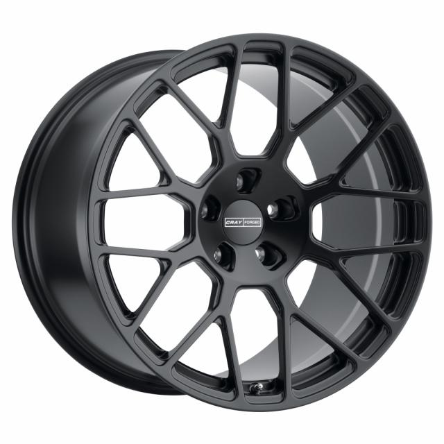 CRAY VENOM 20x10.5  5/120.65 ET65 CB70.3 MATTE BLACK MF
