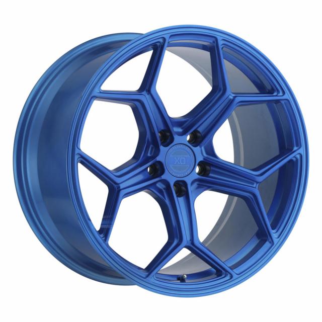 XO HELSINKI 22x9.0 5/120 ET25 CB76.1 ELECTRIC BLUE