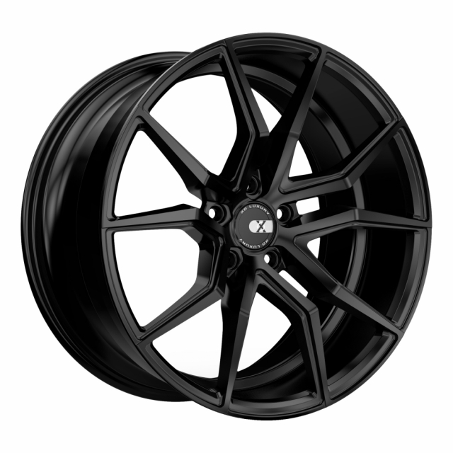 XO VERONA 22x10.5 5/115 ET25 CB71.5 MATTE BLACK